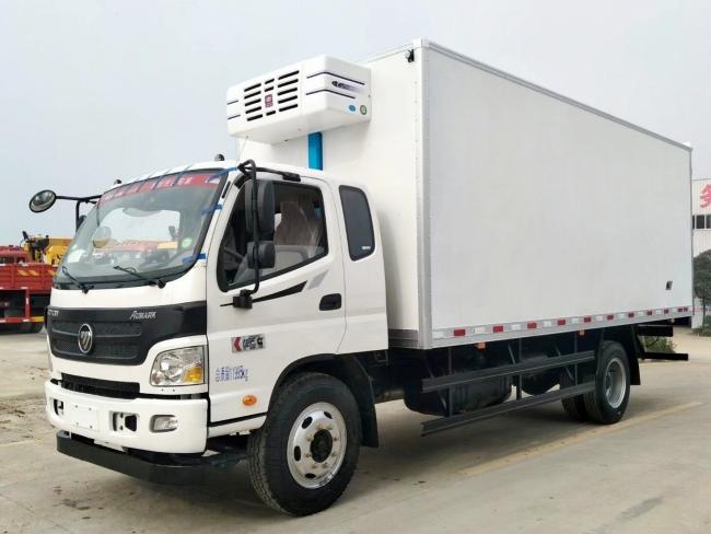 (厢长5.6/6.1米)福田欧马可冷藏车