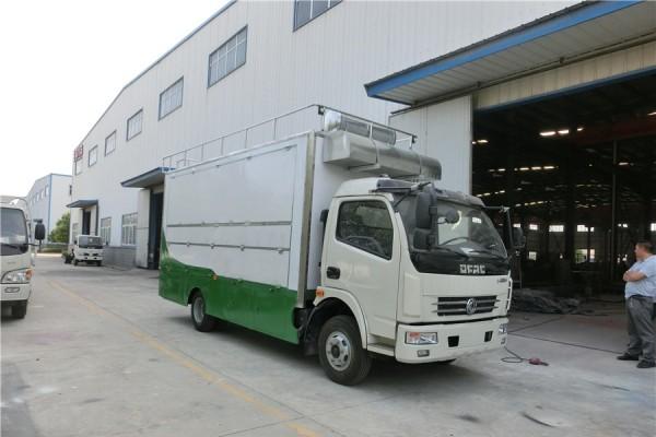 (厢长5.2米)东风多利卡餐车