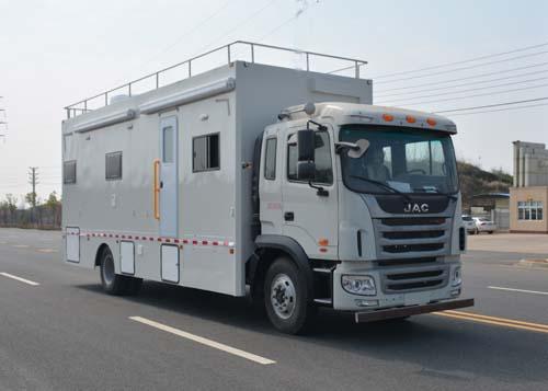 (厢长7.4米)江淮格尔发餐车
