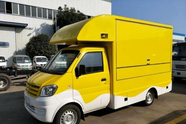 (厢长2.8米)东风小康售货车