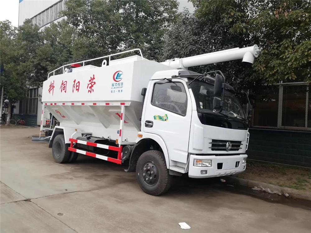 东风多利卡【12立方】散装饲料运输车