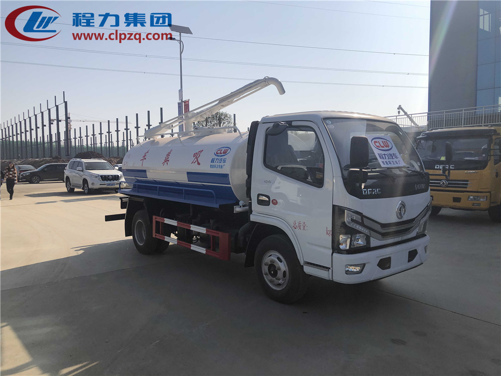 国六【5方】东风D6 吸粪车