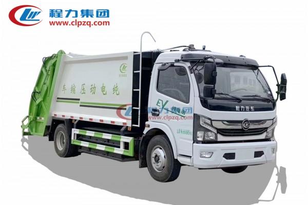 压缩垃圾车 (纯电动 · 上绿牌)