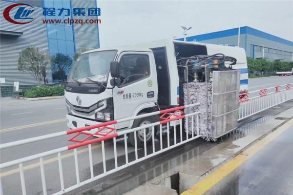 【4立方】东风D6 护栏清洗车